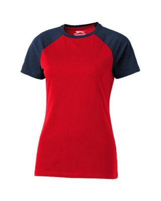 """T-shirt de manga curta para senhora """"Backspin"""""""