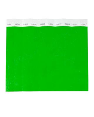 Pulseira de identificação inviolável - papel