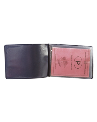 Bolsa porta-documentos horizontal com 6 bolsas