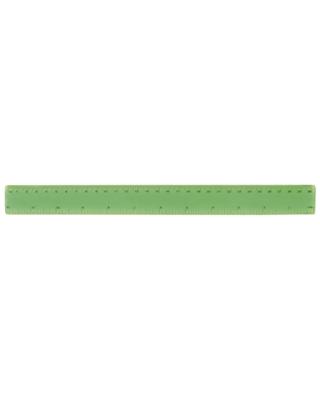 Régua flexível transparente com escala impressa 30 CM