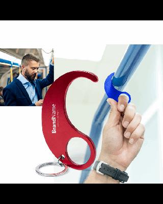 Porta-chaves anti-contacto metal cores