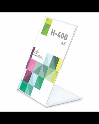 Portagráfica PVC Vertical A6