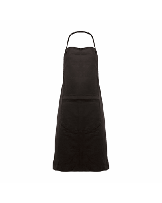 Avental ajustável com 1 bolso, 100% algodão