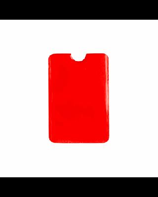 Porta-cartão em alumínio, com RFID