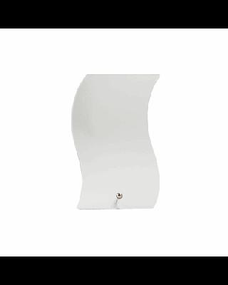 Troféu em vidro, caixa de oferta