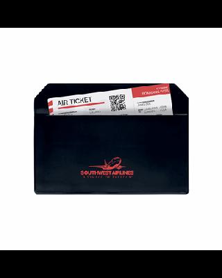 Bolsa em PVC para documentos de viagem