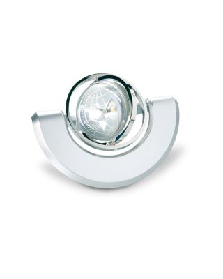 Relógio de mesa com um globo giroscópio