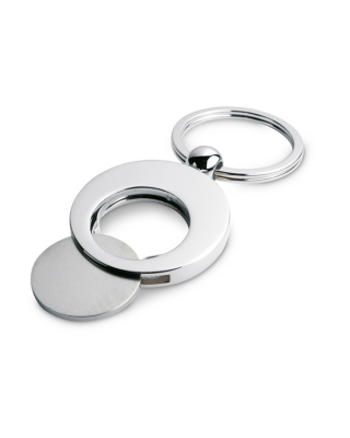 Porta-chaves metálico c/ ficha