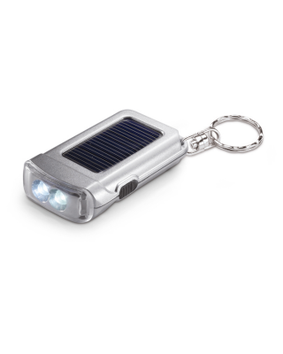 Porta-chaves com lanterna sola