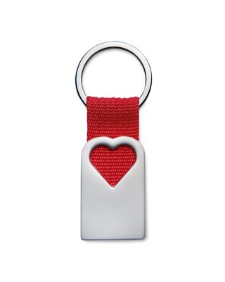 Porta-chaves em forma coração