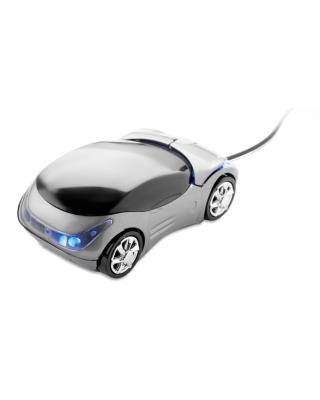 Rato óptico em forma de carro