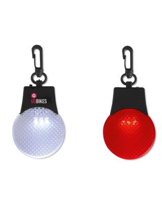 Refletor com gancho. Com 3 luzes LED.