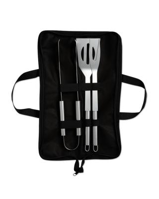 Set de 3 utensílios para churrasco
