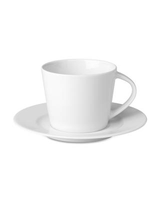 Cappuccino xícara e pires