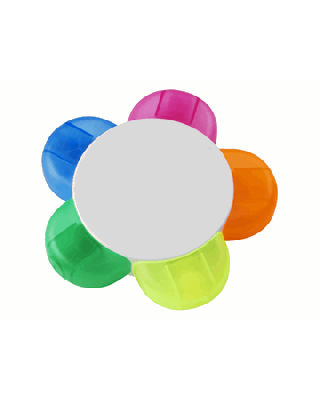 "Marcador fluorescente ""Flower"""