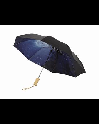 """Guarda-chuva dobrável automático de 2 secções 21"""" """"Clear-night"""""""