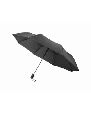"""Guarda-chuva dobrável automático de 21"""" com fita jaspeada """"Gisele"""""""