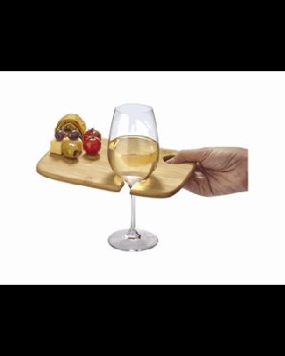 """Tábua para aperitivos com base para copo (Não incluido) """"Mill"""""""