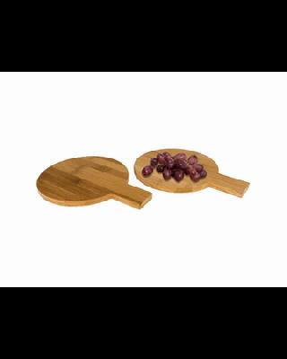 """Conjunto de 2 peças redondas de bambú """"Ayden"""""""