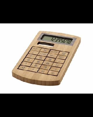 """Calculadora de bambu """"Eugene"""""""
