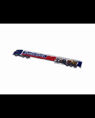 Régua de plástico em forma de camião de 30 cm Loki