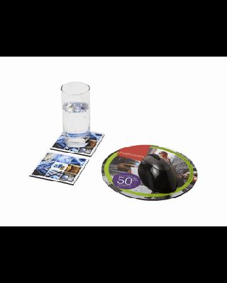 Conjunto de tapete para rato e base para copos Q-Mat® 6