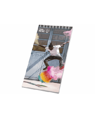 Caderno 1/3 A4 espiral de metal Desk-Mate®