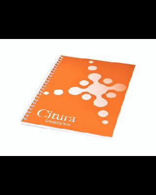 Caderno A5 com capa sintética Desk-Mate®