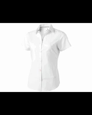 "Camisa malha oxford manga curta de mulher ""Manitoba"""