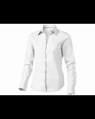 """Camisa de popelina de manga comprida de mulher """"Hamilton"""""""