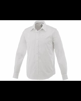 """Camisa elástica de popelina de manga comprida de homem """"Hamell"""""""