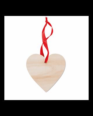 Cabide em forma de coração