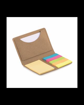 Porta-cartão notas adesivas