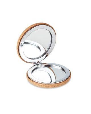 Espelho com tampa de cortiça